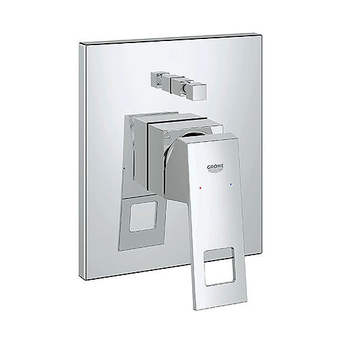 GROHE Eurocube Single Lever Bath/Shower Mixer with Diverter