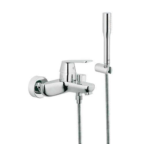 Grohe Eurosmart Cosmo Single Lever Bath Mixer With Hand Shower Set