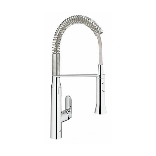 Grohe K7 Professional Single Lever Kitchen Sink Mixer With Spring Swivel Arm