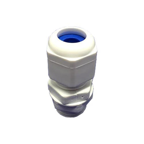 Matelec Gland No 0 Pp White With Blue Grommet