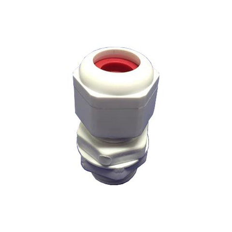 Matelec Gland No 1 Pp White With Red Grommet