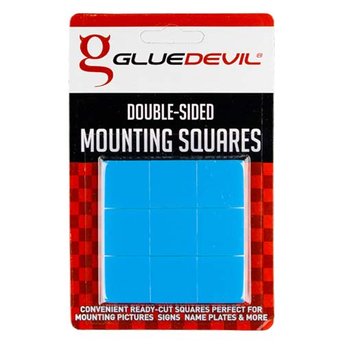 Gluedevil Double Sided Mounting Squares