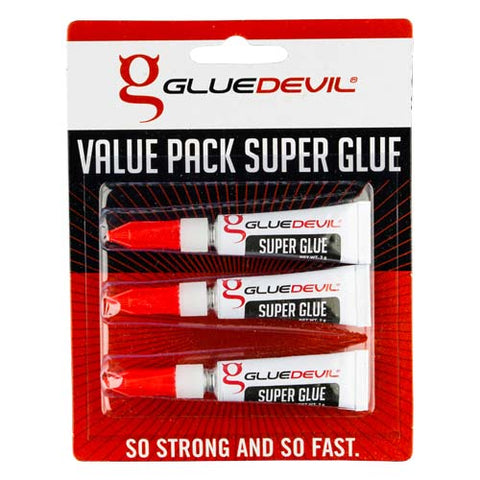 Gluedevil Superglue Value Pack 3 X 3G