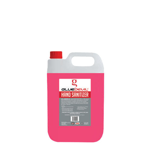 GlueDevil Liquid Hand Sanitiser Jerry Can - 1Lt