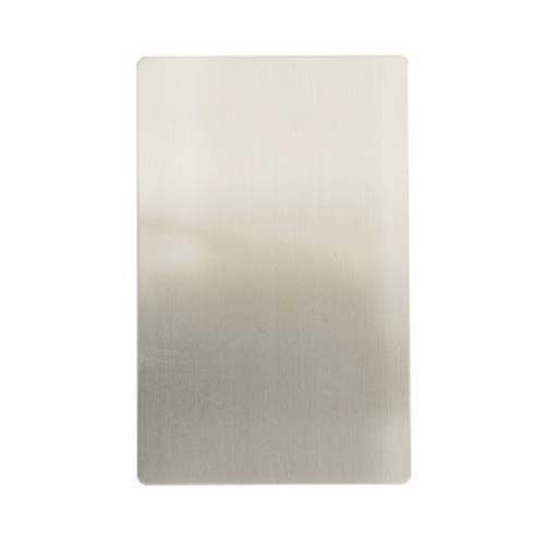 Cbi Stainless Steel Blank 100mm X 50mm
