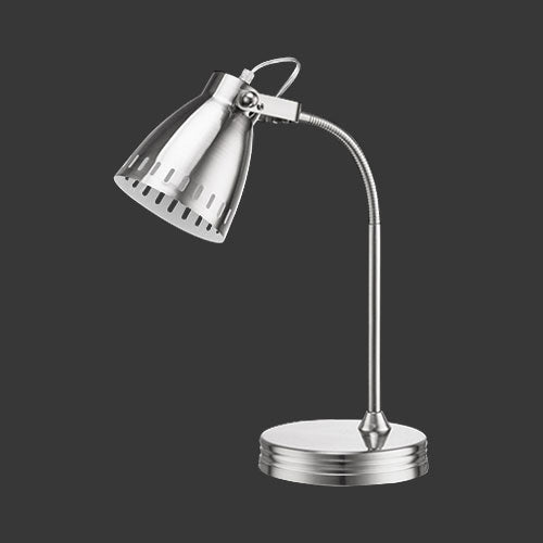 Flexi Desk Lamp - Nickel Satin