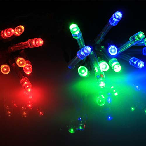 Eurolux Battery Operated 25 Multicoloured LED Fairy Light String