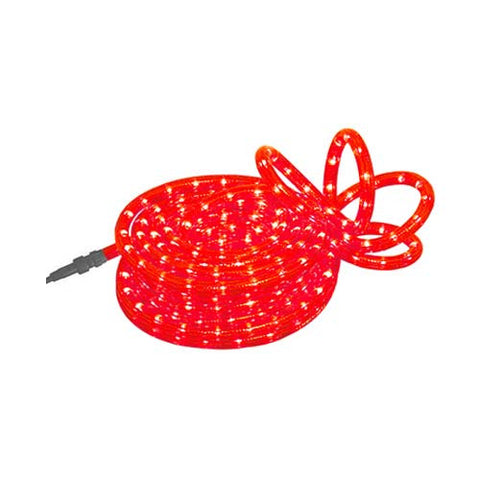 Eurolux 10M Red Rope Light with Controller