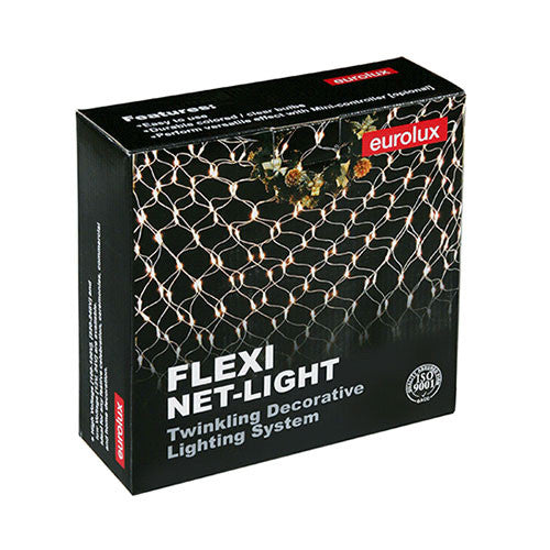 Eurolux Medium Flexi Net Christmas Lights