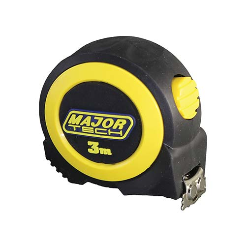Major Tech Tape Measure with Magnetic Tip 3m