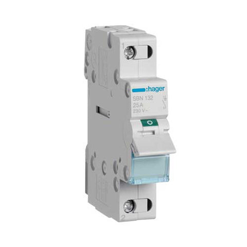 Hager 1 Pole Modular Isolator