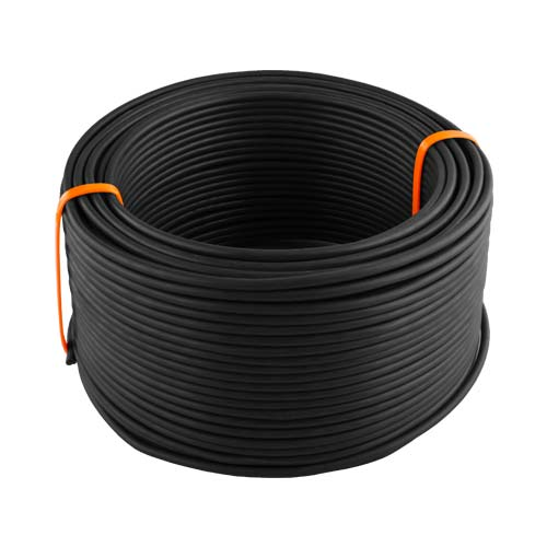 House Wire 6mm Black 10 To 100M