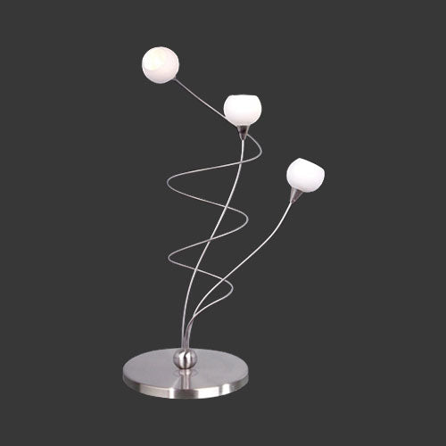 K. Light Dimmable Ball Glass Table Lamp