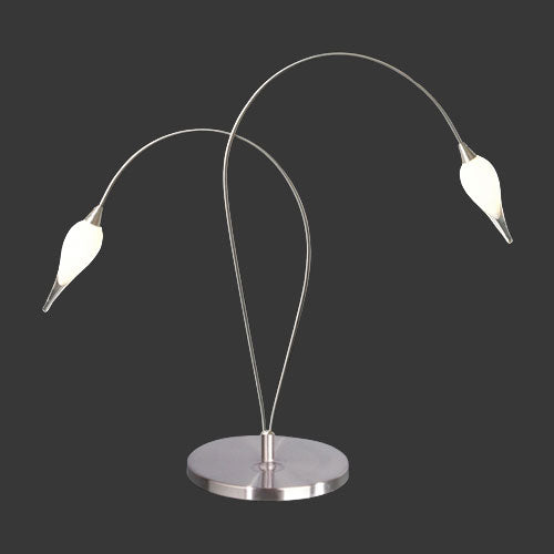 Dimmable Drop Glass Table Lamp