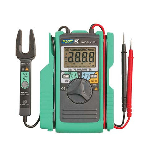 Major Tech Professional AC/DC Mini Clamp Meter