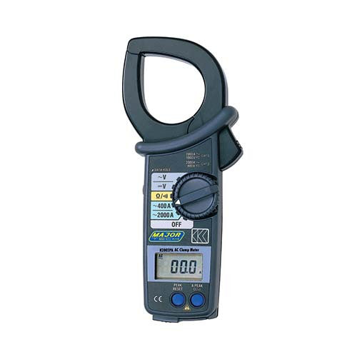 Major Tech Professional AC Clamp Meter 2000A K2002PA