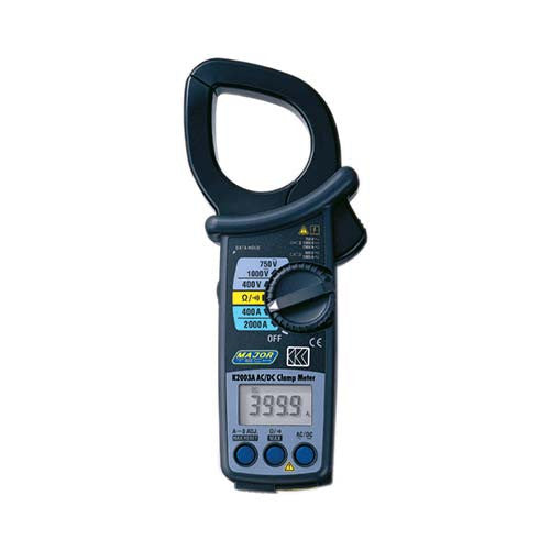 Major Tech Professional Ac Dc Clamp Meter 2000A