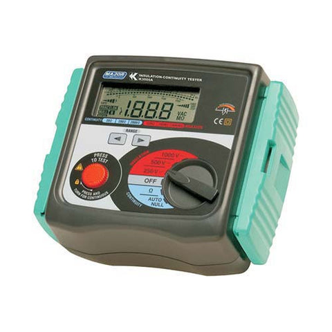 Major Tech Digital Insulation Tester 250/500/1000V K3005
