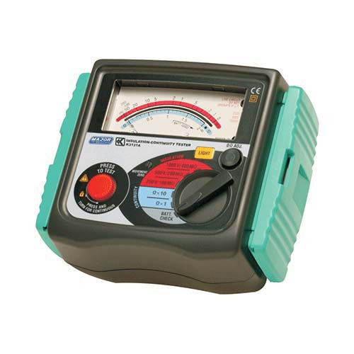 250 500 1000V Analogue Insulation Tester