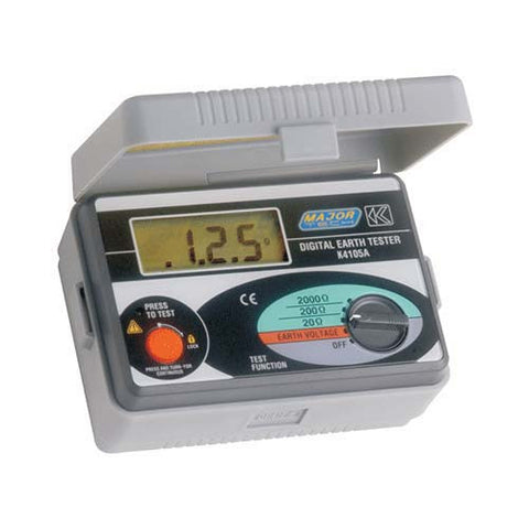 Major Tech 2 or 3 Wire Digital Earth Resistance Tester K4105