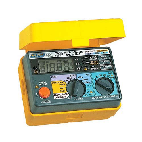 Major Tech Multifunction Digital Tester 5-IN-1 K6011