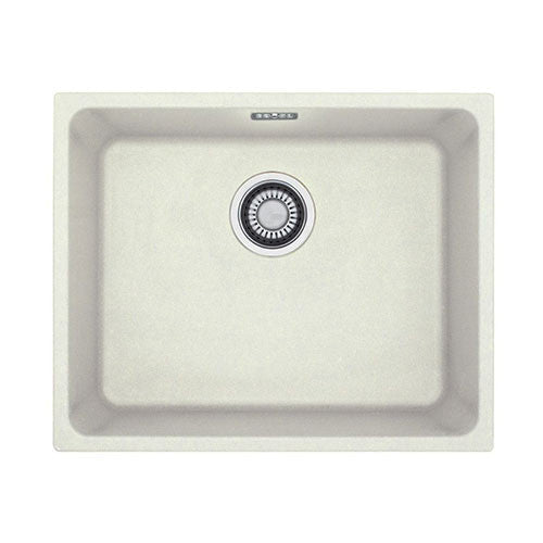 Franke Fragranite Undermount Sink : Franke Kubus KBG110-50 Fragranite Undermount Sink White 1250004 ...