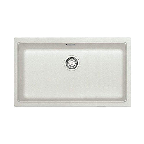 Franke Kubus Undermount Kitchen Sink Kbg 110 70 Polar White