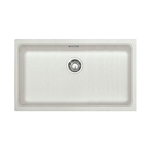 Franke Kubus KBG110-70 Fragranite Undermount Sink White 1250006