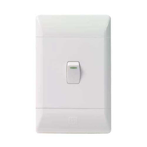 CBi PVC 1 Lever 1 Way Light Switch L120-P