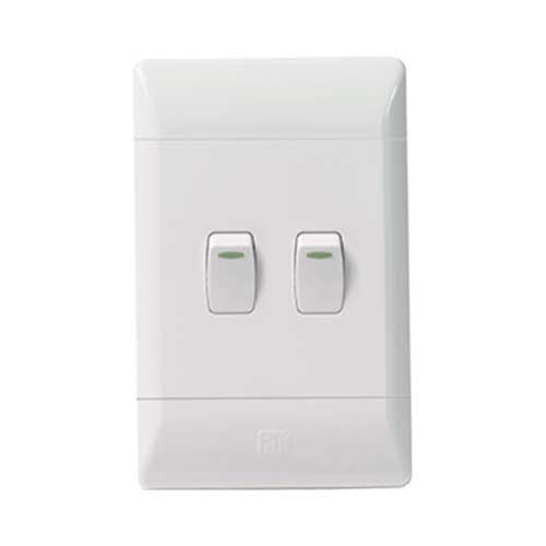 Cbi Pvc 2 Lever 2 Way Light Switch