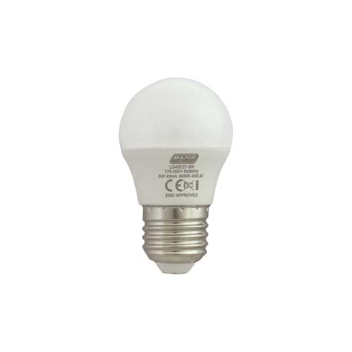Major Tech LED Golf Ball Bulb E27 5W 320lm Warm White