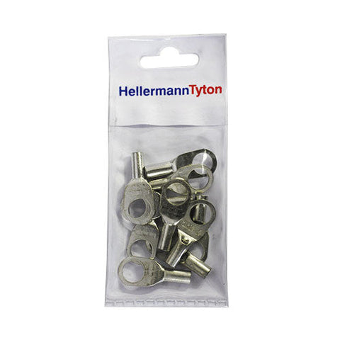 HellermannTyton Cable Lugs HTB105 - 10mm x 5mm - 10 Pack