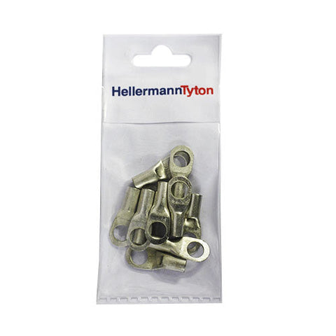 HellermannTyton Cable Lugs HTB168 - 16mm x 8mm - 10 Pack
