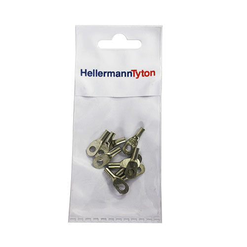 Hellermanntyton Cable Lugs Htb24 2 5mm X 4mm 10 Pack
