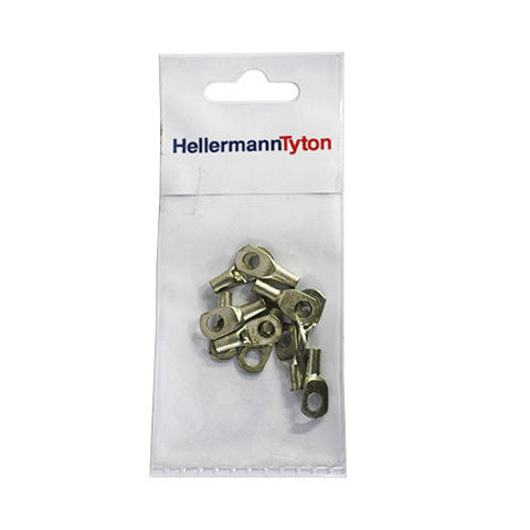 HellermannTyton Cable Lugs HTB45 - 4mm x 5mm - 10 Pack