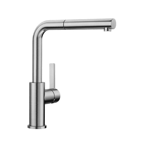 BLANCO Lanora-S Sink Mixer Tap - Stainless Steel