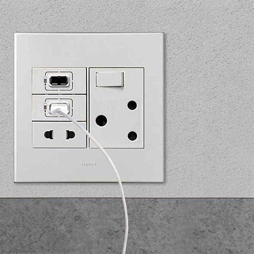 legrand arteor 2 x usb socket - white – livecopper wall plug wiring south africa replacement 3 prong wall plug wiring diagram