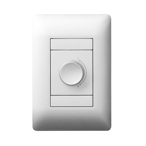Legrand Ysalis 1 Lever Dimmer Switch - White PYD124WHT