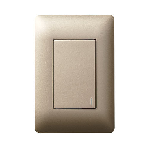 Legrand Ysalis 1 Lever Switch Large Module Champagne