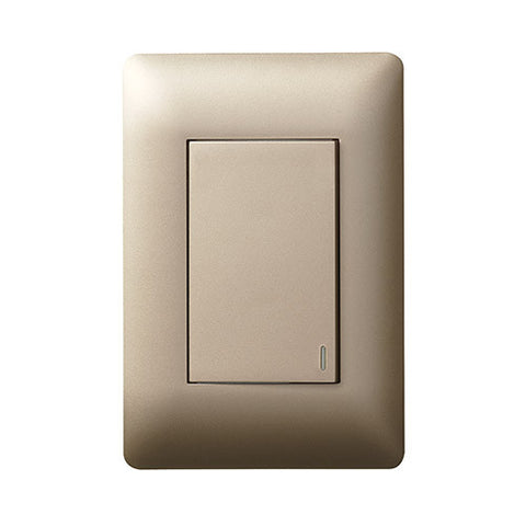 Legrand Ysalis 1 Lever Switch Large Module - Champagne PY124CHAL