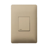 Legrand Ysalis 1 lever Switch - Champagne PY124CHA