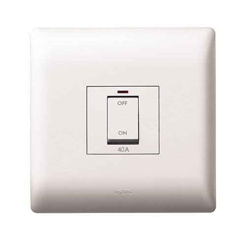 Legrand Ysalis 40A Isolator Switch - White PYISO40AWHT