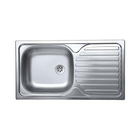 Livinox Contract Single Bowl Sink Satin Finish
