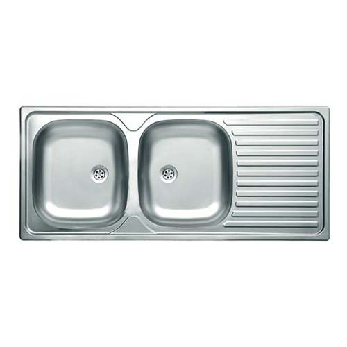 Livinox Double Bowl Sink Satin Finish