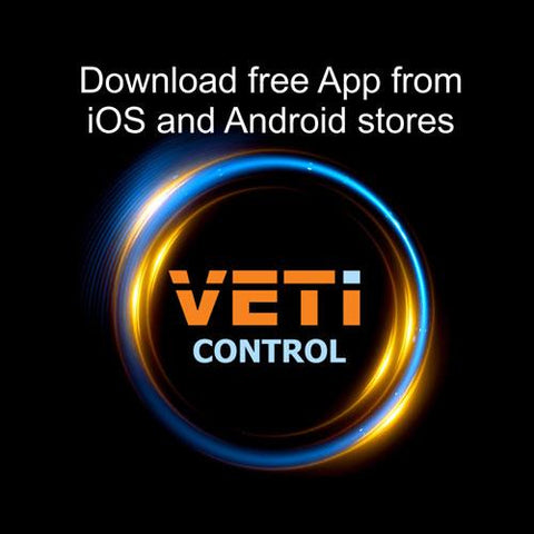 VETi 4 Zone Single Colour Remote