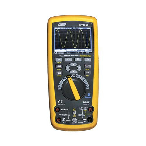 True Rms Multimeter Oscilloscope Meter With Tft Colour Display