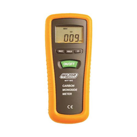 Major Tech Digital Carbon Monoxide Meter MT180