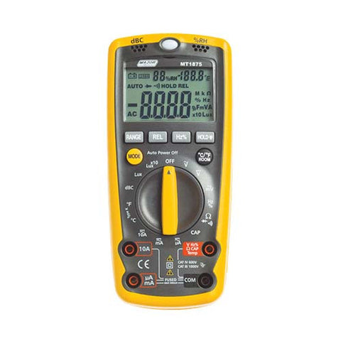 Major Tech Digital Multimeter with Environmental Measurement 6-in-1