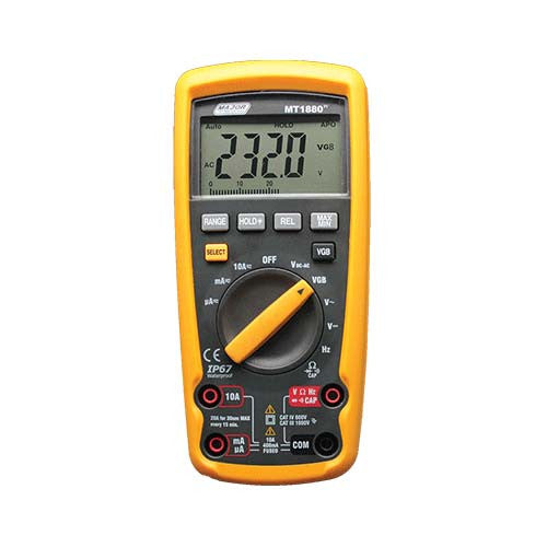 Auto Ranging Digital Multimeter Industrial Vgb Cat Iv 600V