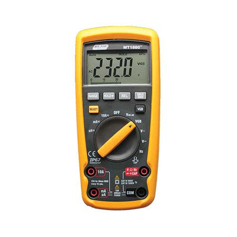 Major Tech Auto Ranging Digital Multimeter - Industrial VGB, CAT IV 600V
